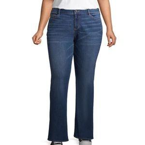 Arizona Midrise Curvy Bootcut Jean